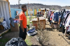 Raemon Prunty is only 14 but helps runs the Free Store