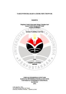 Karya Tari Didik Nini Thowok : karya, didik, thowok, DWIMUKA, KARYA, DIDIK, THOWOK, Repository