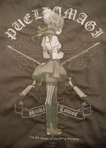 巴マミ刺繍ワークシャツ_セピアトーンver刺繍s