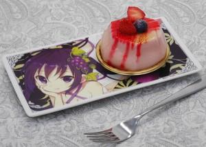 リゼディナープレートとケーキs
