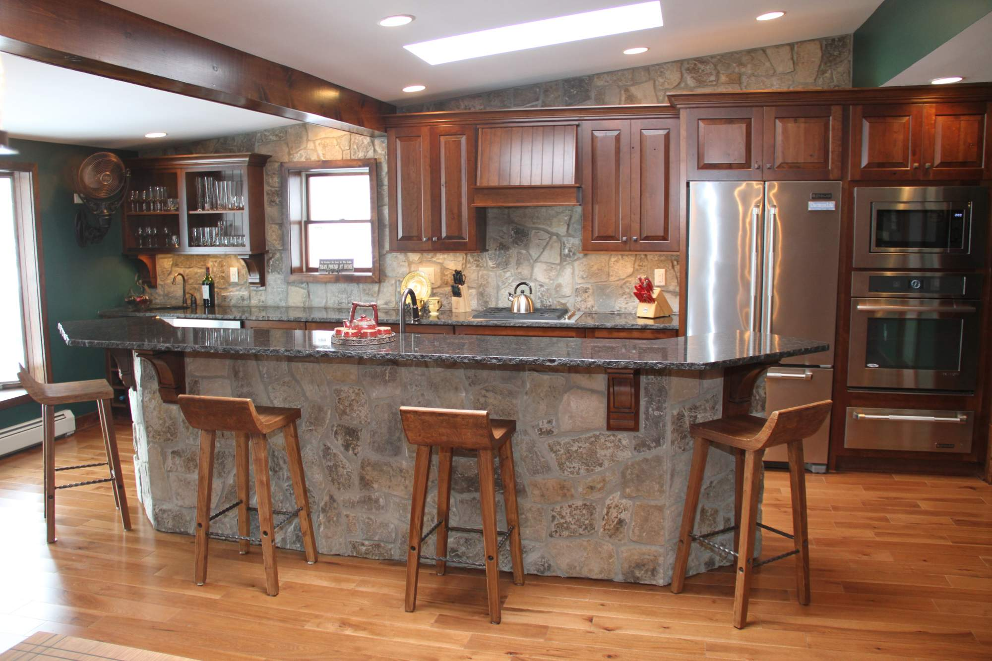 Rustic Lakehouse Kitchen  Kitchens  Projects  Repp