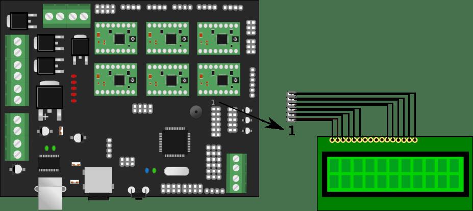 thermistor wiring diagram tachometer megatronics 3.0 - reprap