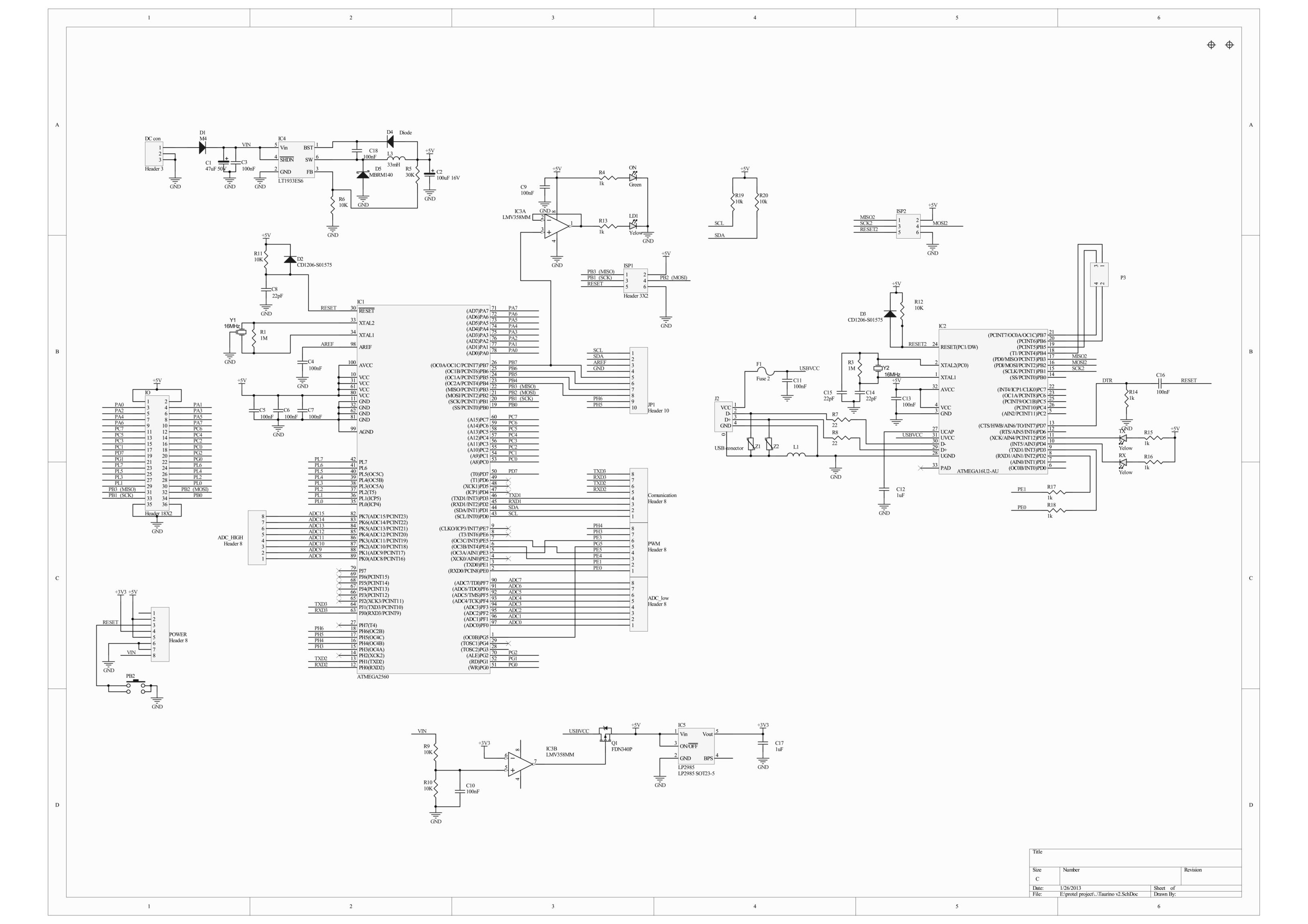 Taurino Power 24v Mega R3