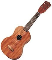 Natural Red Wood Toy Ukulele 21""