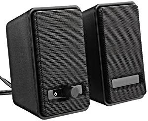 AmazonBasics AC Powered Computer Speakers