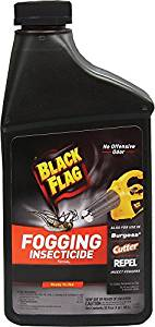 Black Flag 190255 Fogging Insecticide to Control Mosquitoes and Biting Flies Outdoors, 32-Ounce