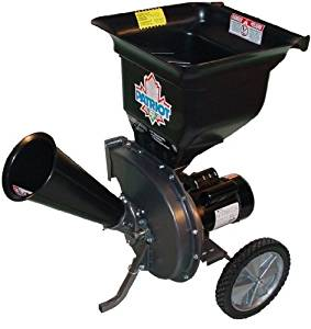 Patriot Products CSV-2515 14 Amp Electric Wood Chipper Leaf Shredder