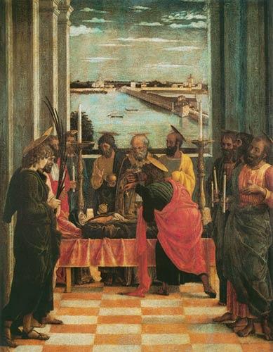 Sur La Mort De Marie : marie, Marie, Tableau, Andrea, Mantegna, Reproduction, Imprimée, Copie, Peinte, L'huile, Toile