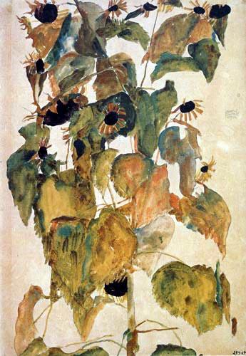 Band Wallpapers Hd Egon Schiele Flowers