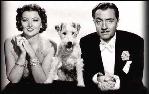Nick and Nora Charles (and Astor!)