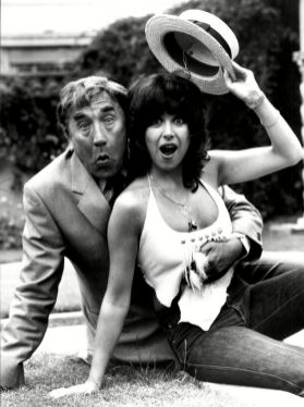 Frankie Howerd and Sally James