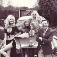 British Celebrities Posing Awkwardly With Glamour Girls