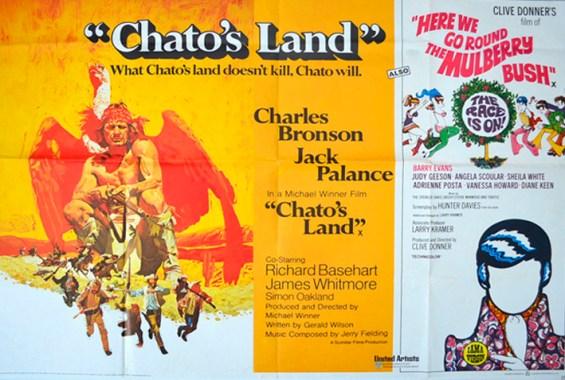 chatos land here we go round mulberry bush - cinema quad movie p