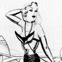 The Anything Goes Girls Bondage Club - Kinky Early Sixties Art