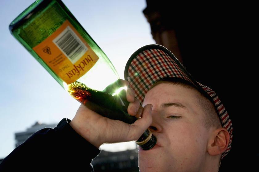 buckfast-drinker