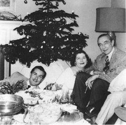 Bela Lugosi and Ed Wood