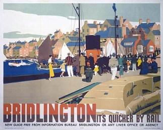 ÔBridlington: ItÕs Quicker by RailÕ, LNER poster, 1935.