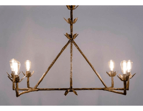 Giacometti Lamp Chandelier