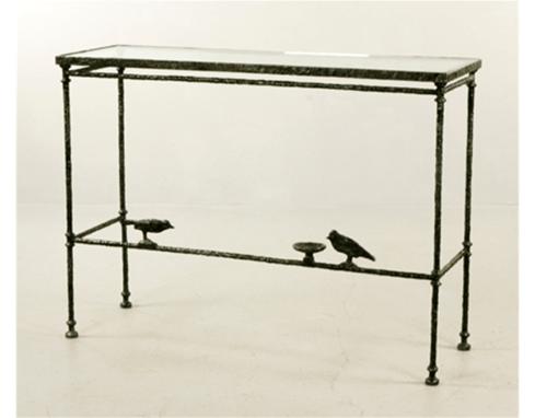 Giacometti Console With Birds