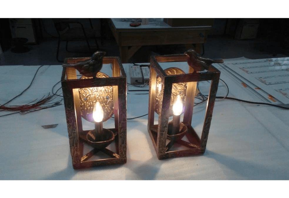 Giacometti Lamps