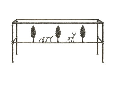 Giacometti Console with Stag