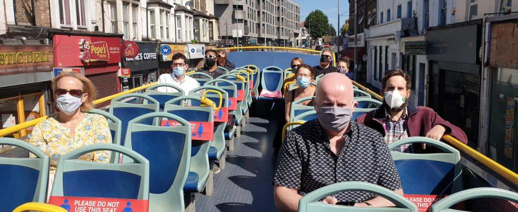 Reducing Covid Risks while Commuting