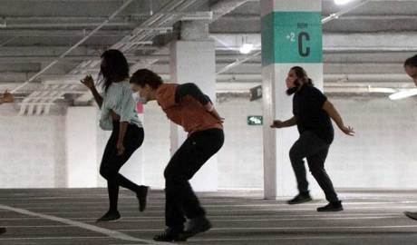 Parking Garage Performances for social distancing