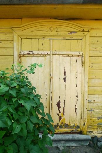 Miestelio žydų namo durys. 2014-08-05.