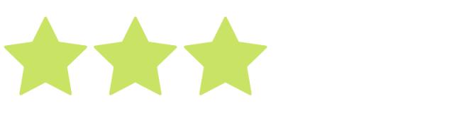 3 stars - high quality