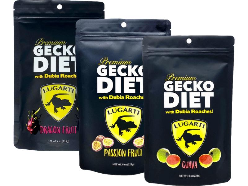 Lugarti Premium Gecko Diet flavors