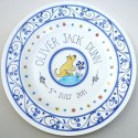 4 New baby plate