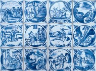 Delft Biblical tiles