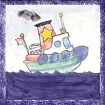 Boat tile 13