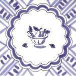 Fruit & Flowers Tile 1