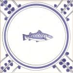 13 Salmon tile