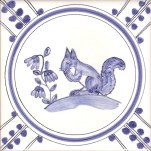 15 Squirrel tile