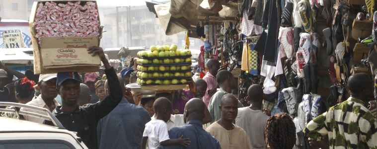 This photo is for our piece on Nigeria's unchecked population growth.