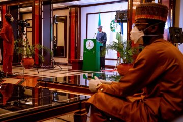 Muhammadu Buhari addresses the nation on coronavirus