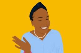 An illustration of Fadekemi Abiru