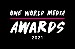 We're on the One World Media Awards Longlist