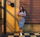 Bodycon-3-bodycon-dress-vestido-largo-casual-azul-sandalias-plus-size-priscilla león