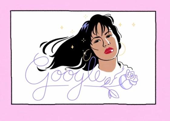 selena quintanilla-google-doogle