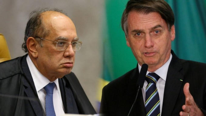Bolsonaro descobre antes da canetada que indicado para a PGR,  já foi sócio de Gilmar e muda de ideia