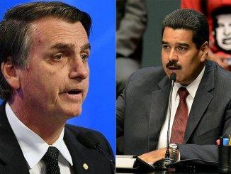 Bolsonaro Maduro
