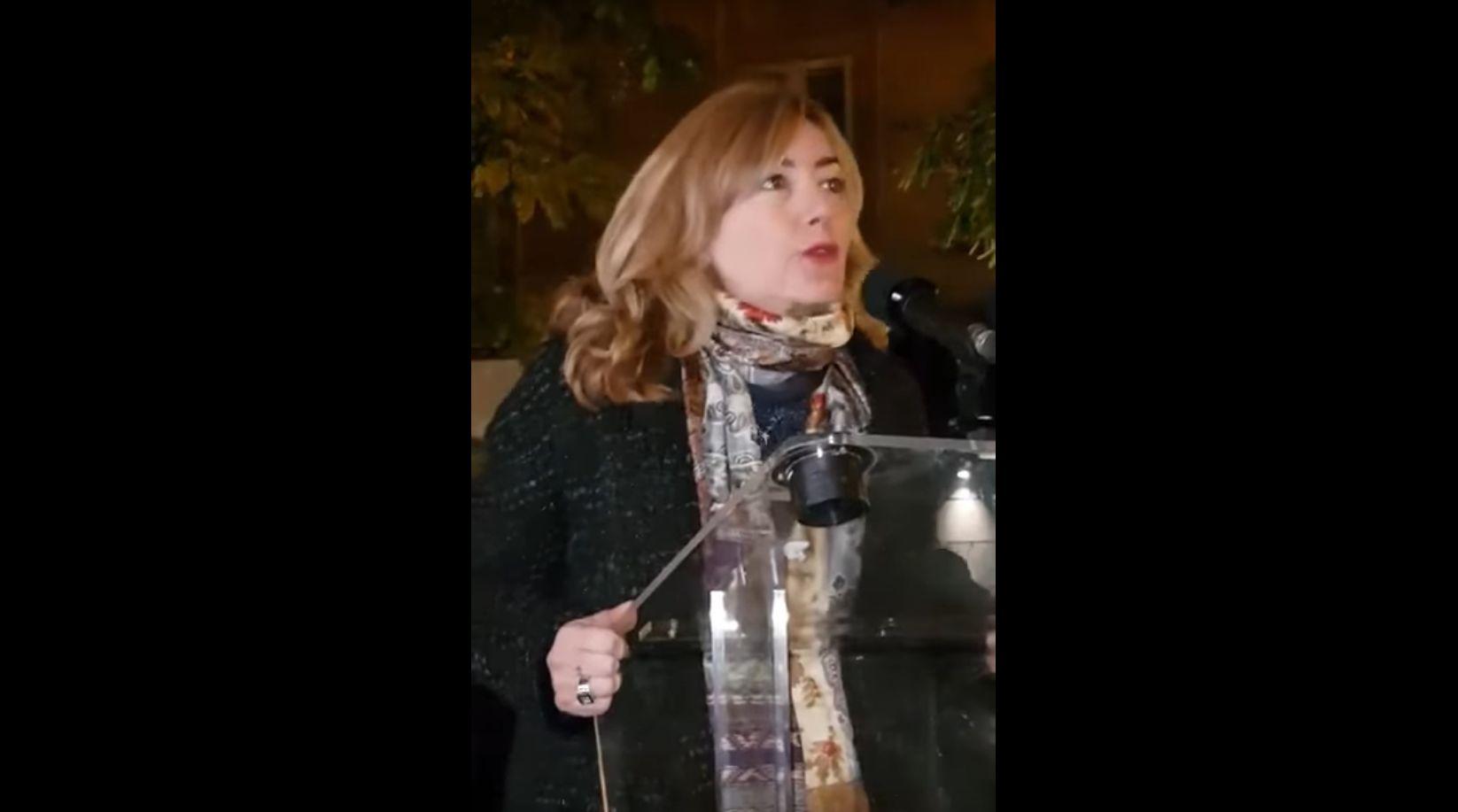 Intervention de Stéphanie Grimaldi lors de l'Inauguration de la permanence de Valérie Bozzi à Bastia