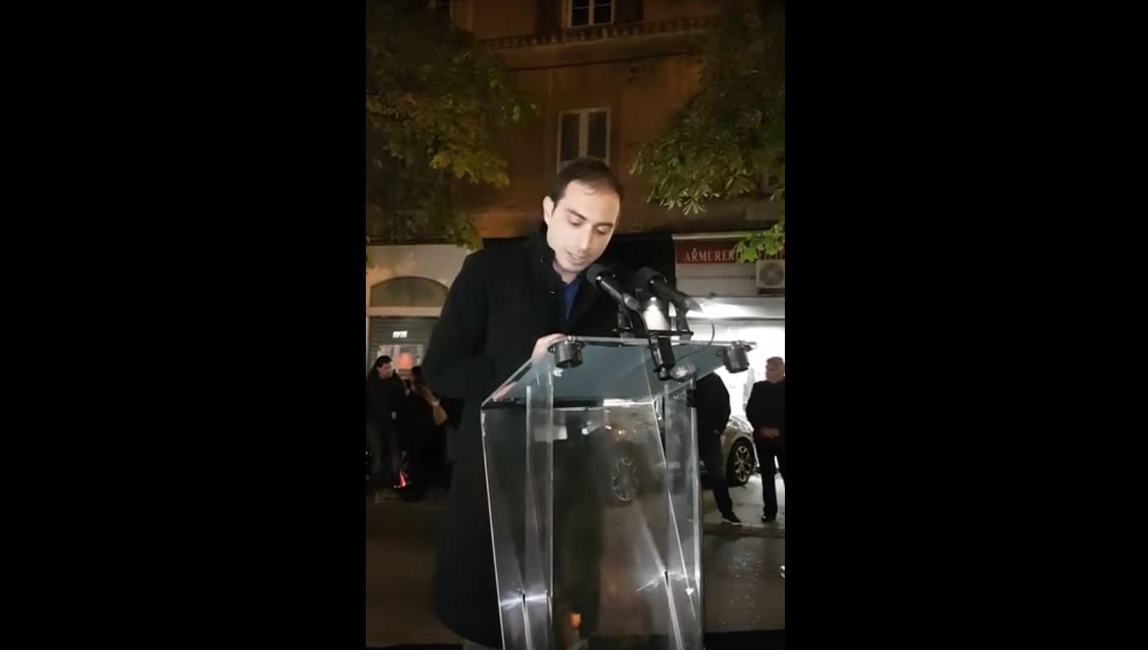 Intervention de Sylvain Fanti lors de l'Inauguration de la permanence de Valérie Bozzi à Bastia