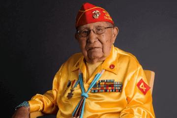 Navajo Nation Code Talker David Patterson Sr. (Photo: Navajo Nation)