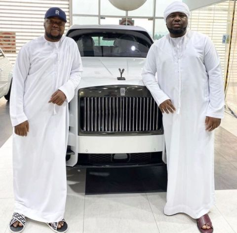 OfficialPac and Hushpuppi
