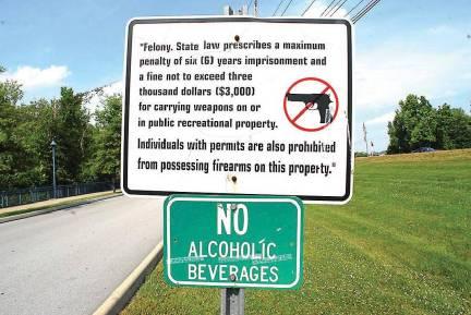 park gun ban