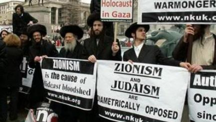 Zionism is Anti-Semitic